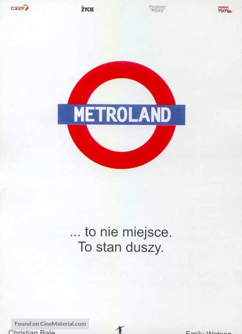 Metroland - Polish DVD cover