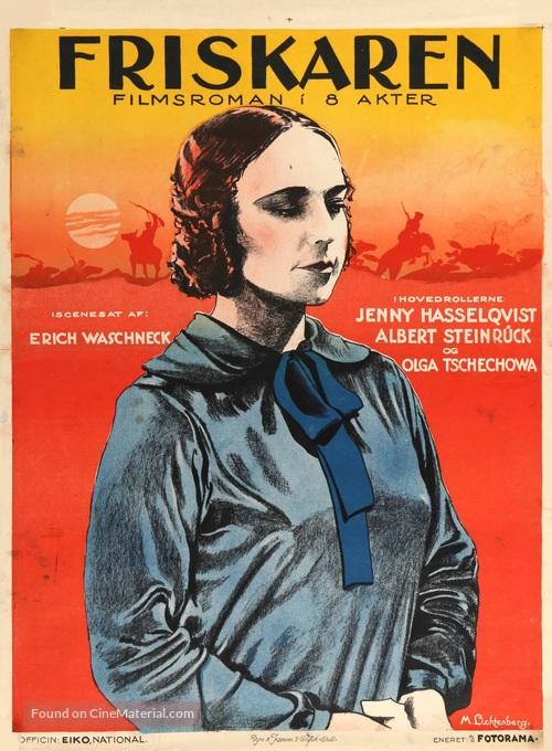 Brennende Grenze - Danish Movie Poster