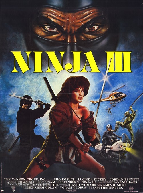 Ninja III: The Domination - French Movie Poster