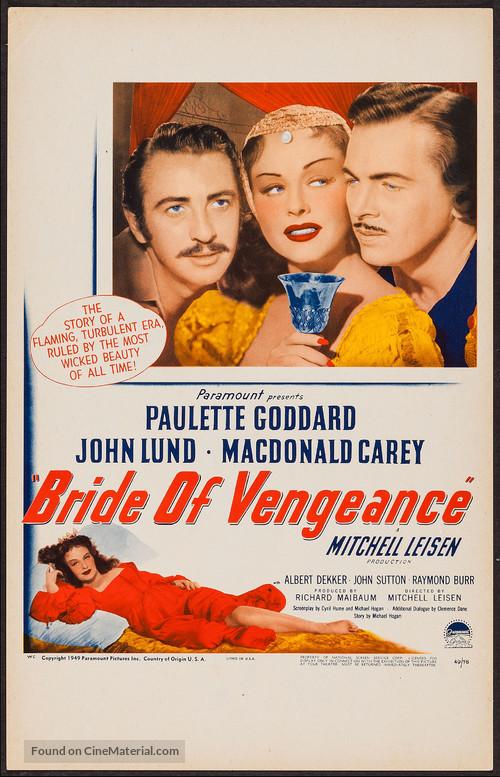 Bride of Vengeance - Movie Poster