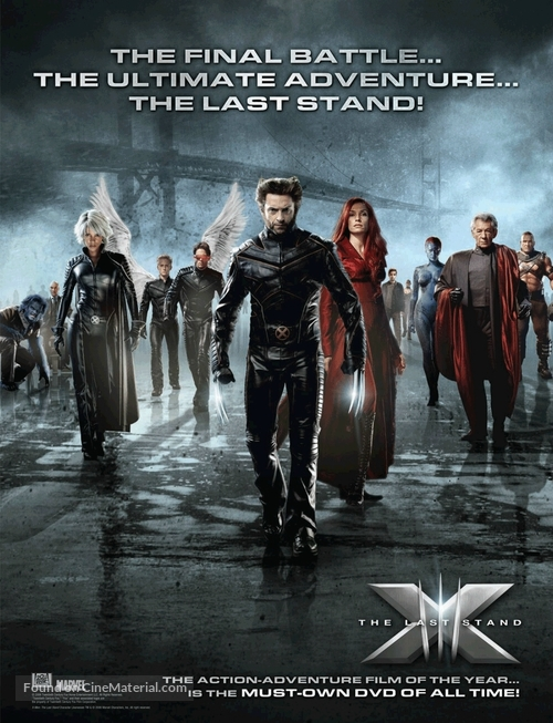 xmen the last stand movie poster