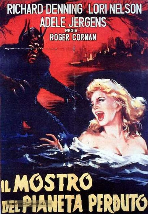 Day the World Ended - Italian Movie Poster