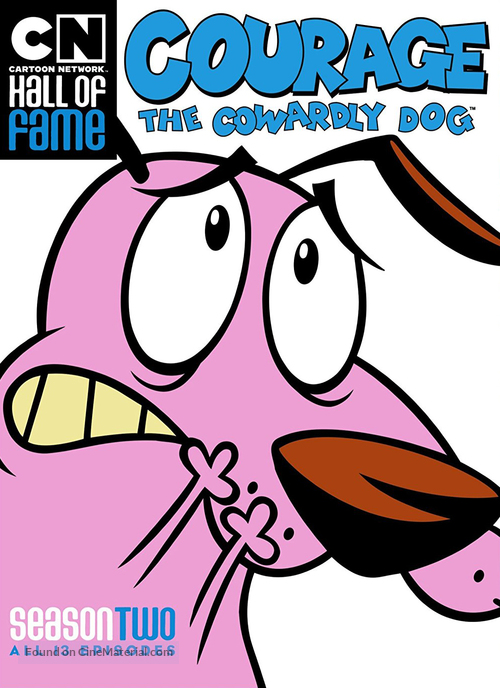 """""""Courage the Cowardly Dog"""" - Movie Cover"""