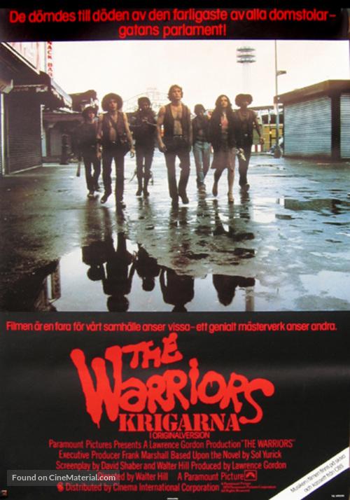 The Warriors - Swedish Movie Poster