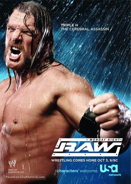 """WWE Monday Night RAW"" - Movie Poster"