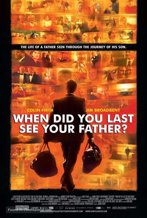 And When Did You Last See Your Father? - poster
