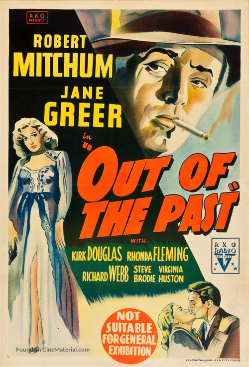Out of the Past - Australian Movie Poster