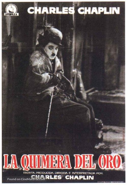 The Gold Rush - Spanish Movie Poster
