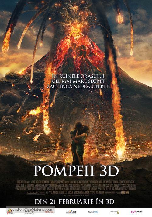Pompeii - Romanian Movie Poster