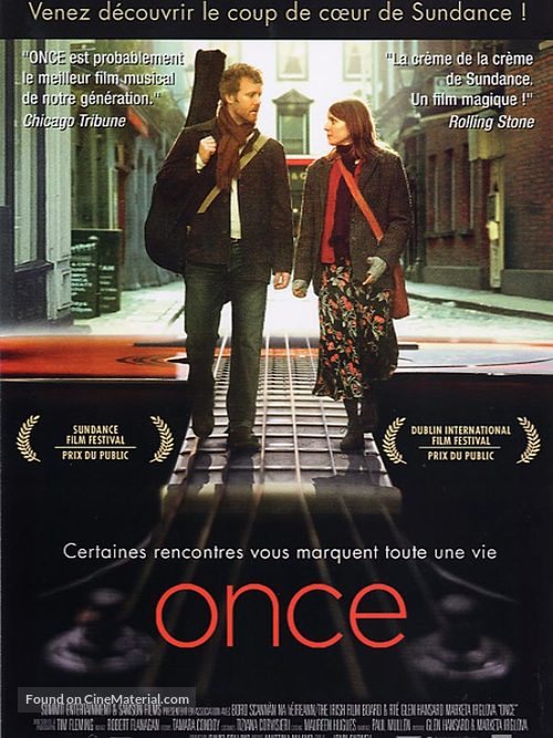 Once - French Movie Poster