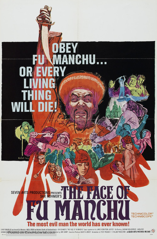 The Face of Fu Manchu - Movie Poster