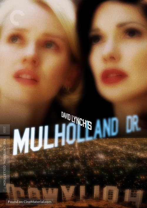 Mulholland Dr. - DVD movie cover
