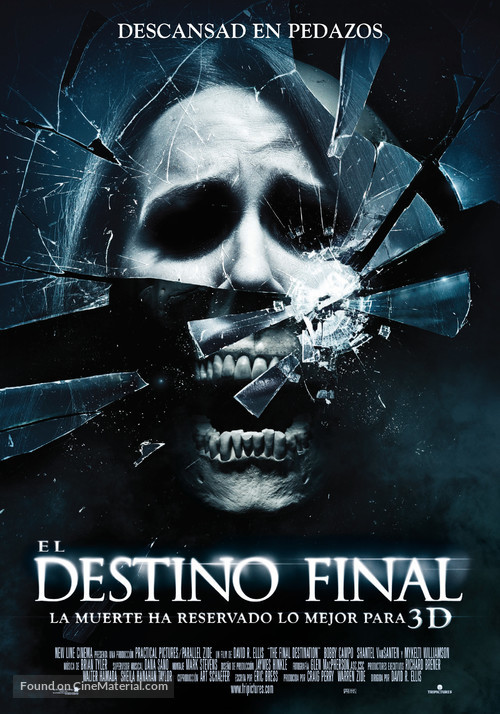 The Final Destination - Spanish Movie Poster