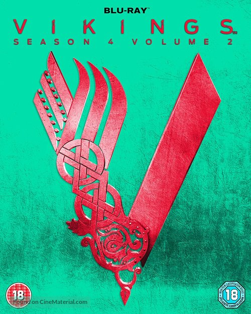 """Vikings"" - British Blu-Ray movie cover"