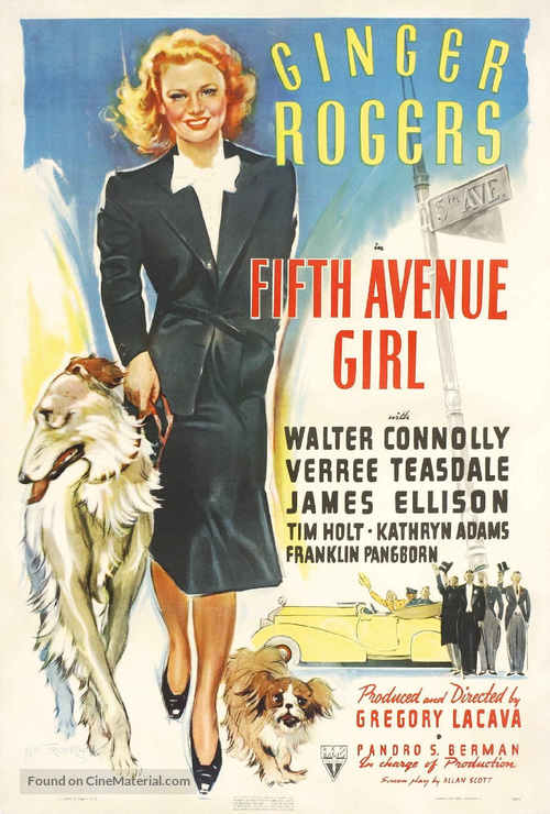 5th Ave Girl - Movie Poster