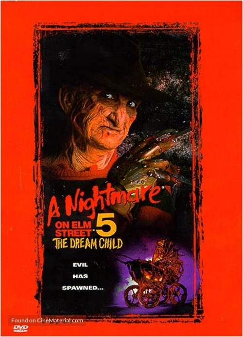 A Nightmare on Elm Street: The Dream Child - DVD movie cover