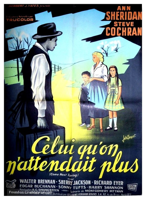 Come Next Spring - French Movie Poster