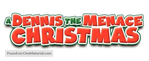 A Dennis the Menace Christmas - Logo