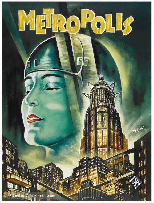 Metropolis - German Movie Poster