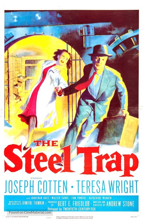 The Steel Trap - Movie Poster