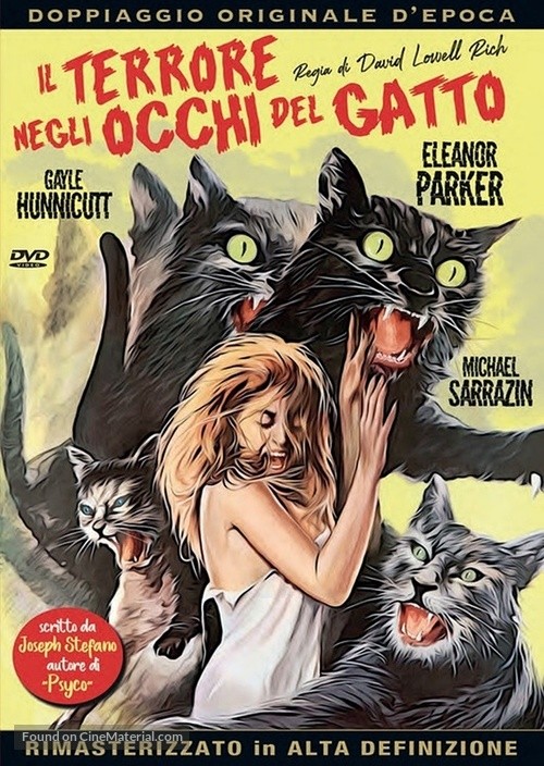 Eye of the Cat - Italian DVD movie cover