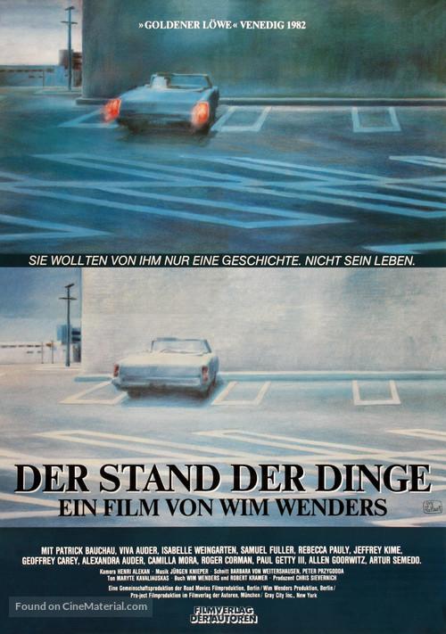 Stand der Dinge, Der - German Movie Poster