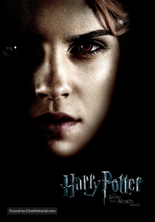 Harry Potter and the Deathly Hallows: Part I - Italian Movie Poster