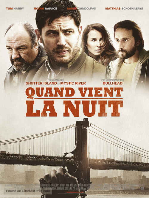 The Drop - French Movie Poster