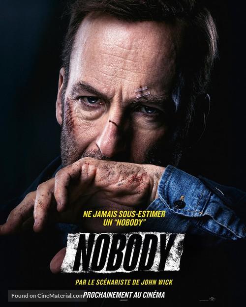 Nobody - French Movie Poster