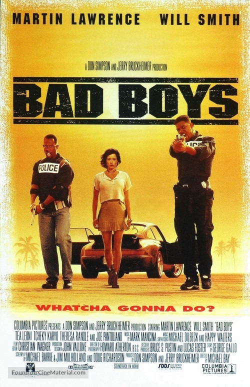 Bad Boys - Movie Poster