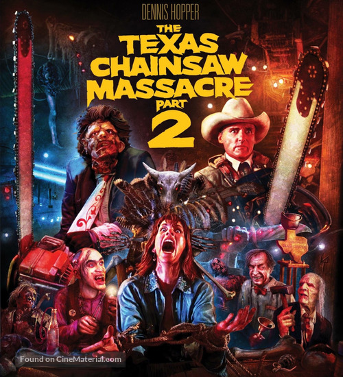 The Texas Chainsaw Massacre 2 - Blu-Ray movie cover
