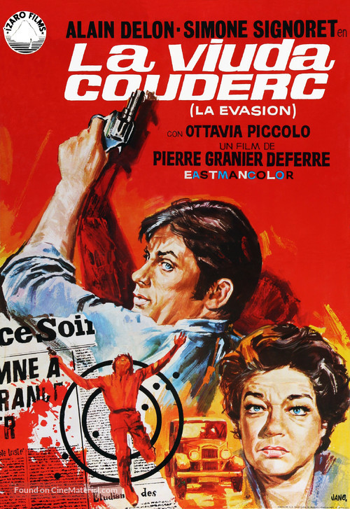 Veuve Couderc, La - Spanish Movie Poster