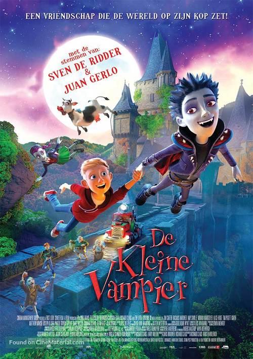 The Little Vampire 3D Dutch movie poster