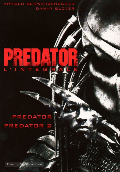 Predator - French DVD movie cover