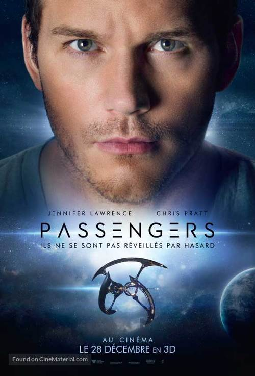 Passengers - French Movie Poster