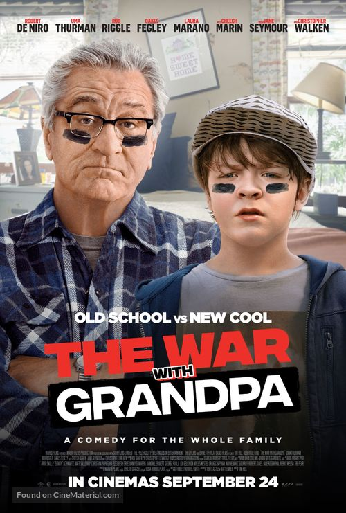 The War with Grandpa - New Zealand Movie Poster
