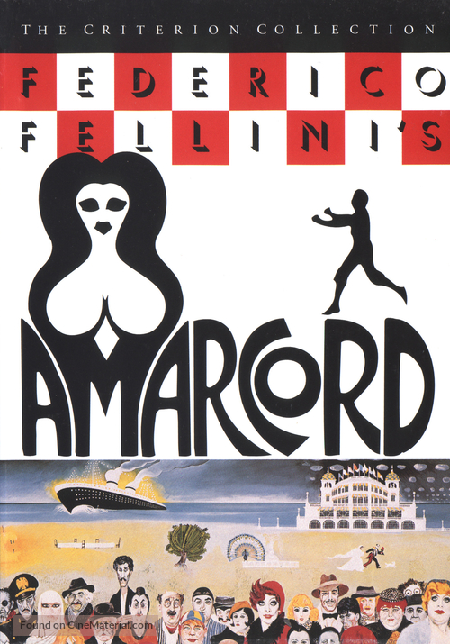 Amarcord - DVD movie cover