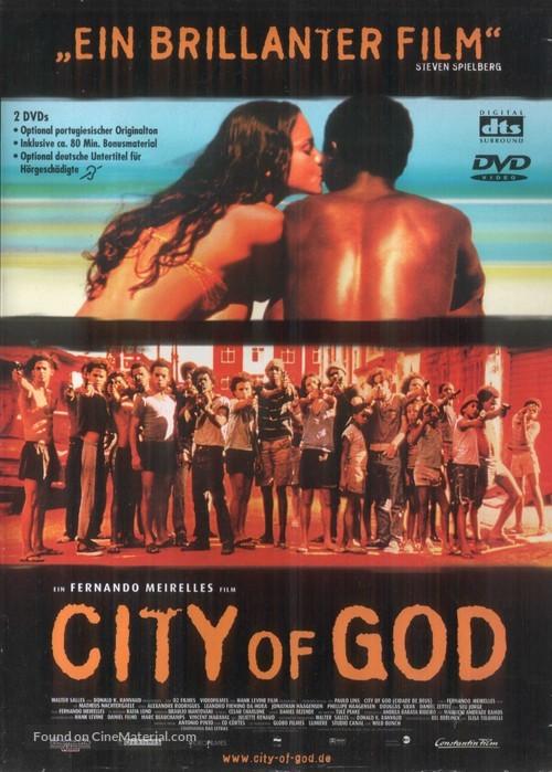 Cidade de Deus - German DVD movie cover