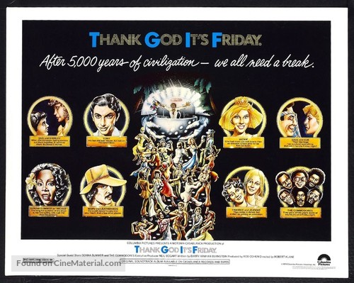 Thank God It's Friday - Movie Poster