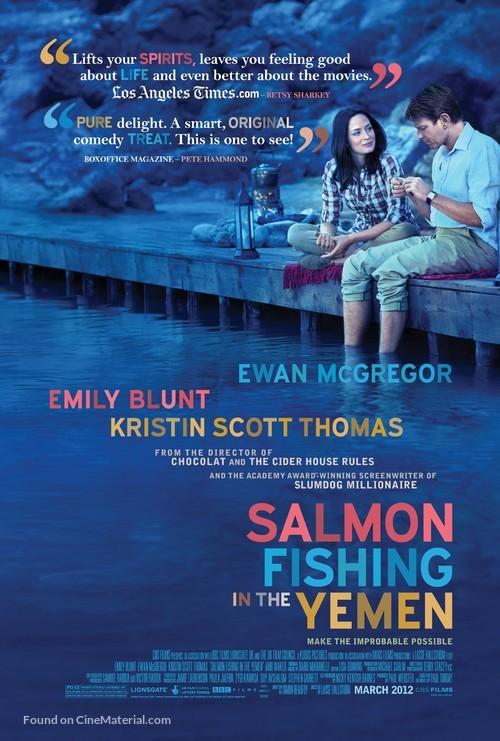 Salmon Fishing in the Yemen - Movie Poster