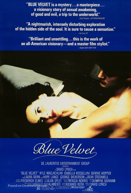 Blue Velvet - Theatrical poster