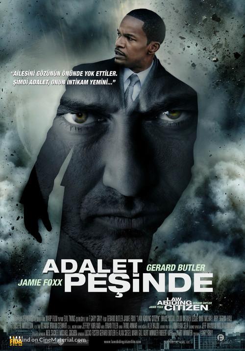 Law Abiding Citizen - Turkish Movie Poster