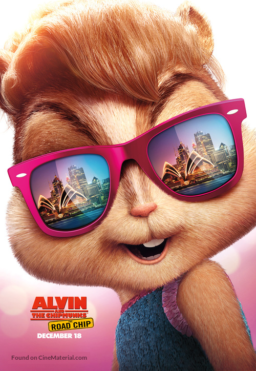 Alvin and the Chipmunks: The Road Chip - Movie Poster
