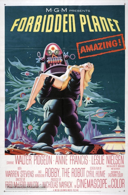 Forbidden Planet - Movie Poster