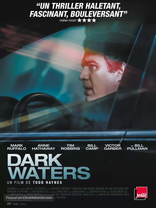 Dark Waters - French Movie Poster