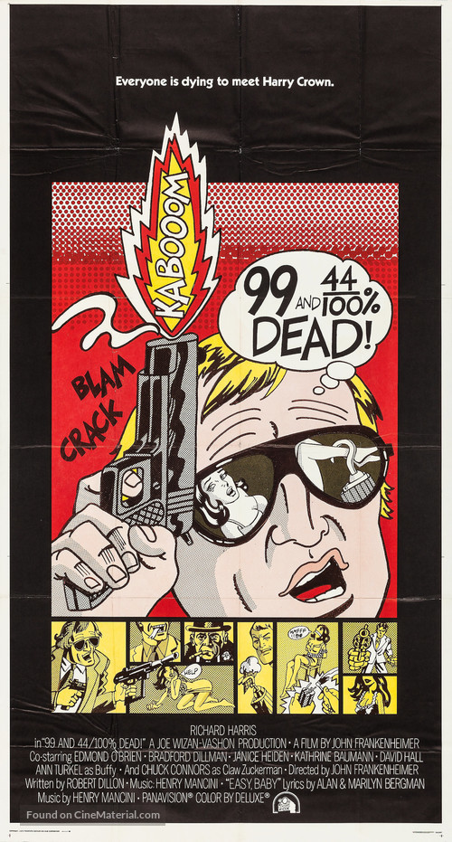 99 and 44/100% Dead - Movie Poster