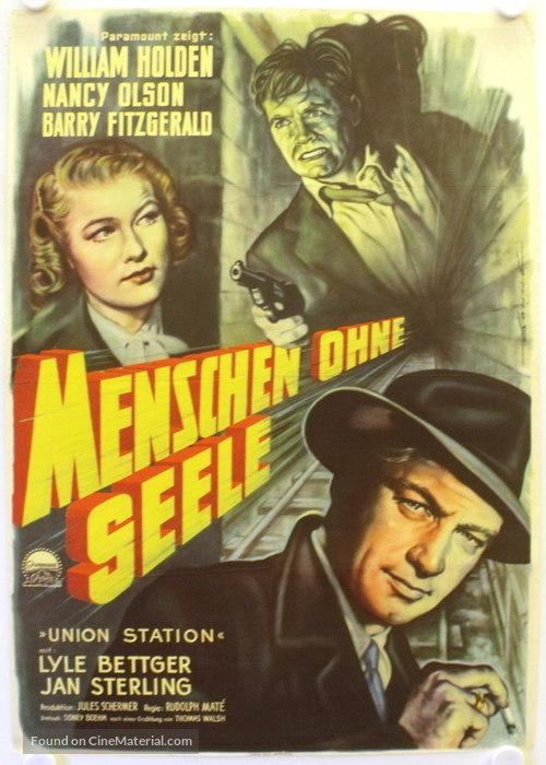 Union Station - German Movie Poster