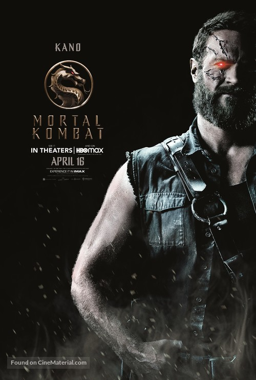 Mortal Kombat - Movie Poster