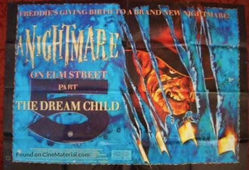 A Nightmare on Elm Street: The Dream Child - British Movie Poster