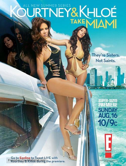 """Kourtney & Khloe Take Miami"" - Movie Poster"